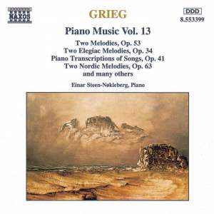 Grieg: Piano Music. Vol. 13 Product Image