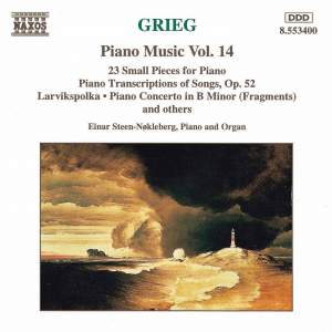 Grieg: Piano Music. Vol. 14