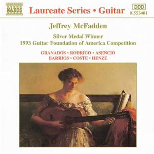 Guitar Recital: Jeffrey McFadden Product Image