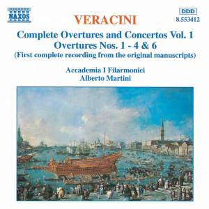 Veracini: Overtures And Concertos, Vol. 1 Product Image