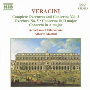 Veracini: Overtures And Concertos, Vol. 2 Product Image