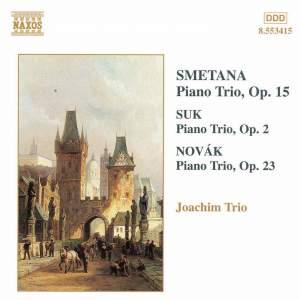 Smetana, Suk & Novák: Piano Trios Product Image