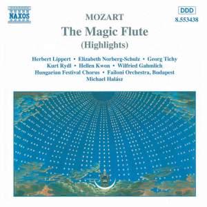 Mozart: Die Zauberflöte, K620 (highlights) Product Image