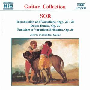 Sor: Introduction & Variations on several themes, Dance etudes & other solo guitar works Product Image