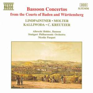 Bassoon Concertos From The Courts Of Baden-Wurttemberg Product Image