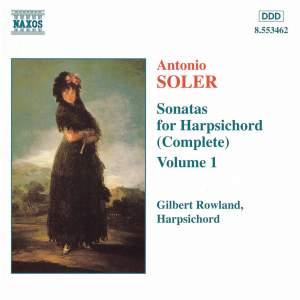 Soler - Sonatas For Harpsichord Volume 1 Product Image