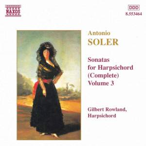 Soler - Sonatas for Harpsichord Volume 3 Product Image