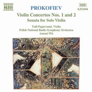 Prokofiev: Violin Concerto No. 1 in D major, Op. 19, etc. Product Image