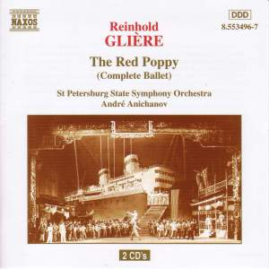Glière: The Red Poppy, Op. 70 Product Image