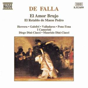 Falla: El Amor Bruja & El retablo de Maese Pedro