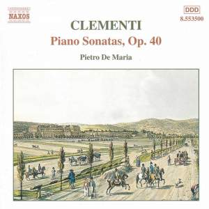 Clementi: Piano Sonata in G major, Op. 40, No. 1, etc. Product Image