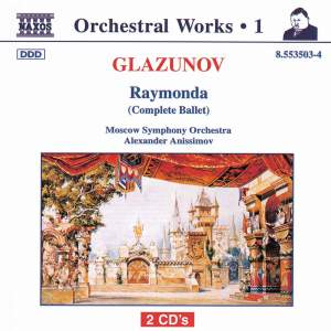 Glazunov - Orchestral Works Volume 1 Product Image