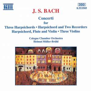 Bach: Concertos for Flute, Harpsichord & Three Keyboards