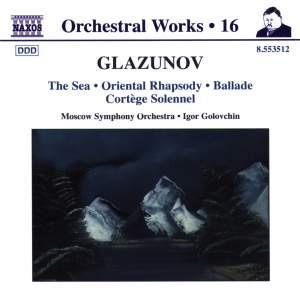 Glazunov - Orchestral Works Volume 16 Product Image
