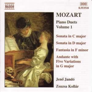 Mozart: Piano Duets, Vol. 1 Product Image