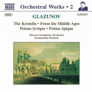 Glazunov - Orchestral Works Volume 2 Product Image