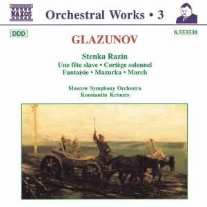 Glazunov - Orchestral Works Volume 4 Product Image