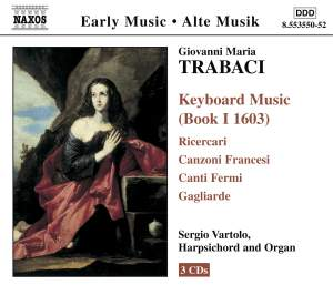 Trabaci: Keyboard Music (Book 1 1603), etc. Product Image