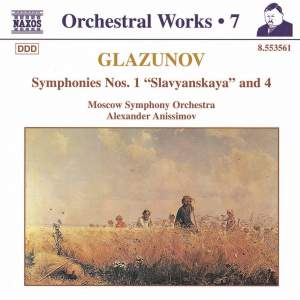 Glazunov - Orchestral Works Volume 7 Product Image