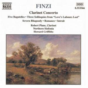 Finzi: Clarinet Concerto, Five Bagatelles & other works Product Image