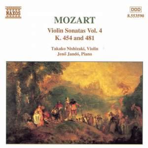Mozart: Violin Sonatas, Vol. 4 Product Image