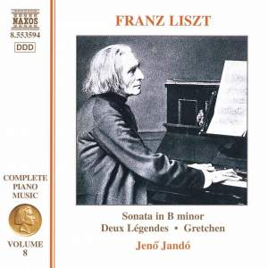 Liszt: Complete Piano Music Volume 8 Product Image