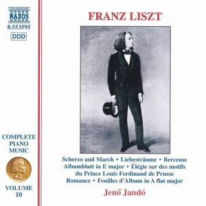 Liszt: Complete Piano Music Volume 10 Product Image