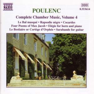 Poulenc: Complete Chamber Music, Vol. 4 Product Image