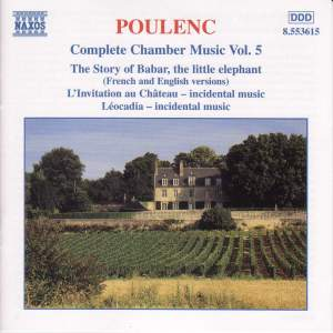 Poulenc: Complete Chamber Music, Vol. 5 Product Image