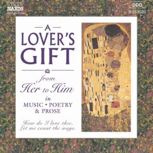 A Lover's Gift from Her to Him in Music, Poetry & Prose Product Image