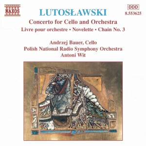 Lutosławski: Livre pour orchestre, Cello Concerto, Novelette & Chain 3 Product Image
