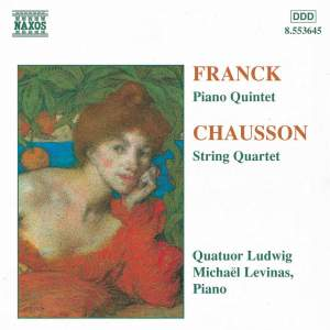 Chausson: String Quartet in C minor, Op. 35, etc. Product Image