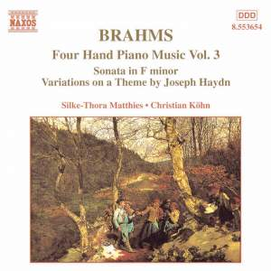 Brahms: Four Hand Piano Music, Volume 3