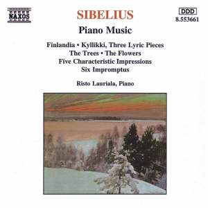 Sibelius: Piano Music (Selection) Product Image