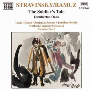 Stravinsky: L'Histoire du Soldat & Concerto for chamber orchestra Product Image