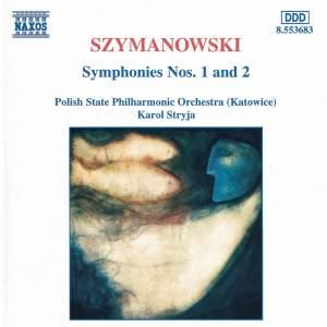 Szymanowski: Symphonies Nos. 1 and 2 Product Image