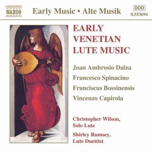 Early Venetian Lute Music Product Image