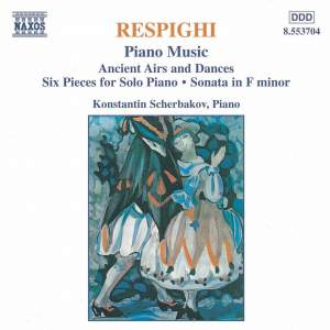 Respighi: Piano Music Product Image