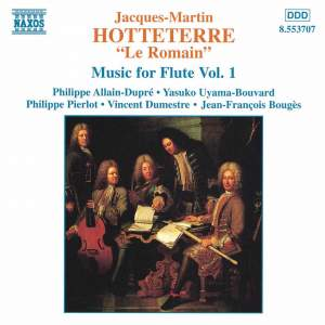 Hotteterre: Music For Flute, Vol. 1 - Premiere livre de pieces