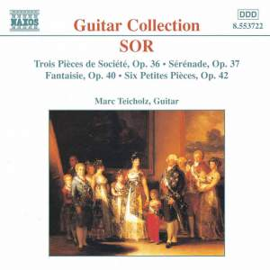 Sor: 2 Pieces de Societe, Serenade, Fantasy & 6 petites pieces