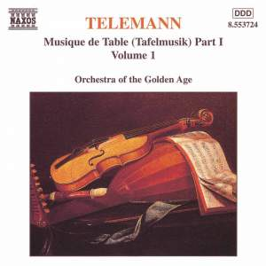 Telemann: Musique de Table (Tafelmusik), Vol. 1 Product Image