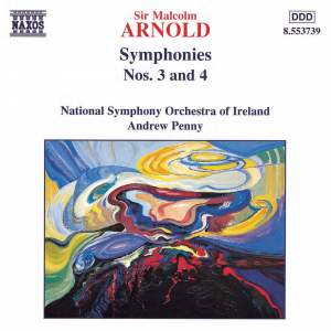 Arnold - Symphonies Nos. 3 & 4 Product Image