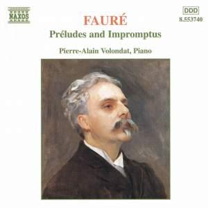 Fauré: Préludes and Impromptus Product Image