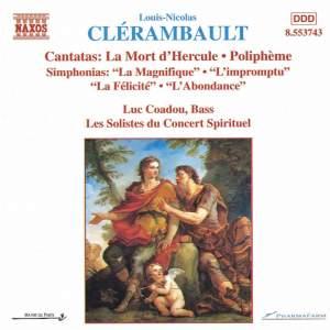 Clérambault: Cantatas and Simphonias