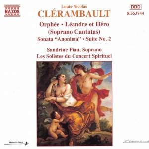 Clérambault: Soprano Cantatas Product Image