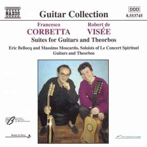 Corbetta & Visée: Suites for guitars and theorbos Product Image