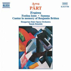 Pärt: Fratres & other chamber works Product Image