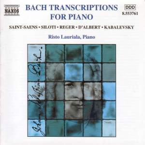 Bach Transcriptions For Piano Product Image
