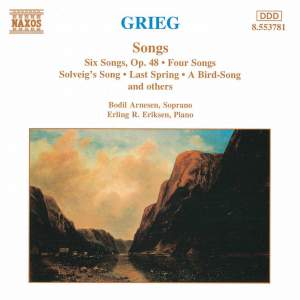 Grieg: Songs Product Image