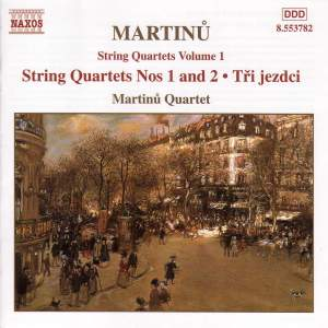Martinu - String Quartets Vol. 1